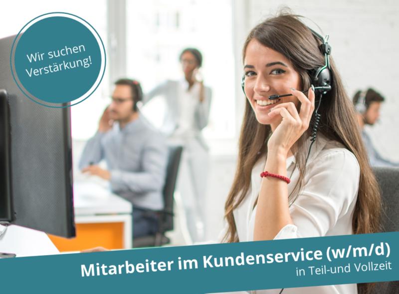 Kundenservice-Mitarbeiter – Berlin und/oder Home-Office (w/m/d)